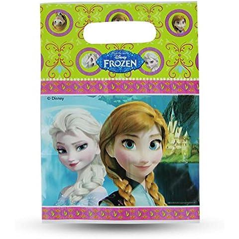 Bolsa de regalo bolsa de regalo Frozen Elsa Anna cumpleaños actual bolso 16,5 x 23 cm