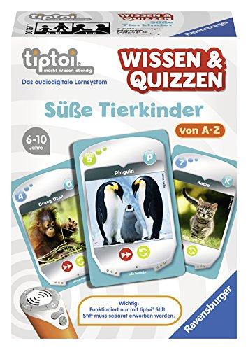 Ravensburger-00767-tiptoi-Wissen-Quizzen-Se-Tierkinder