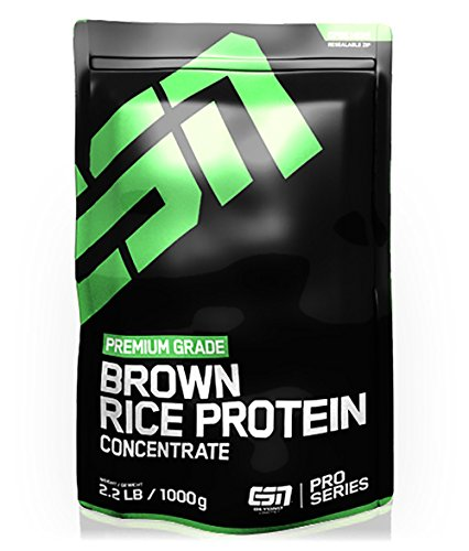 #ESN Brown Rice Protein Concentrate, Pro Series, Cinnamon Roll, 1er Pack (1 x 1000g Beutel)#