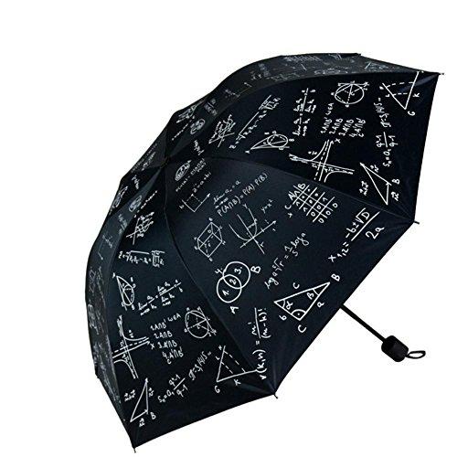 JAYLONG Travel Umbrella 8 Ribs Chalk and Formula Robusto