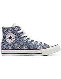 mys Converse All Star Customized, Sneaker Unisex, printed Italian style Arabesque