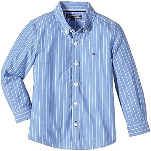 Tommy Hilfiger Mason Stripe Shirt L/s - Camisa Niños