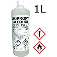 Hexeal IPA 100%   1L   Lab Grade   Isopropyl Alcohol/Isopropanol (99%) Brand