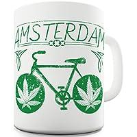 Twisted Envy Amsterdam Erba Bicicletta in ceramica tazza