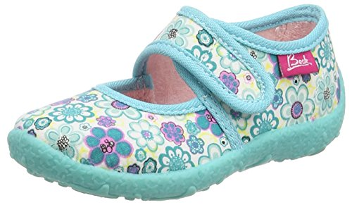 beck-girls-summer-cold-lined-low-house-shoes-turquoise-size-25-uk