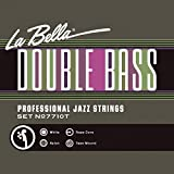 La Bella Double Basse Tape Wound Jazz en nylon blanc