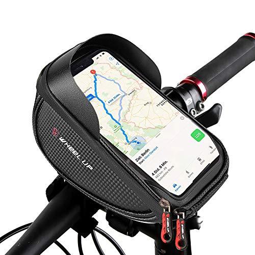 vitutech Fahrrad Rahmentaschen, Lenkertasche Fahrrad Wasserdicht Handyhalterung, Fahrradtaschen Fahrrad Rahmentaschen, Fahrradtaschen Handyhalter für Smartphone bis zu 6 Zoll