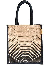 H&B Men's Multipurpose Waterproof Jute Lunch Bag/Tote Bag/Shopping/HandBag for Men and Women(Multicolour)
