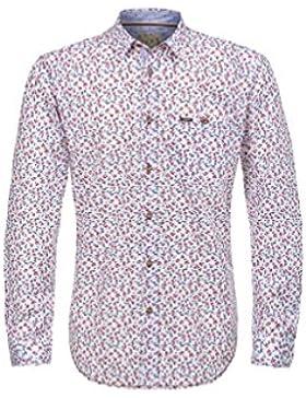 Michaelax-Fashion-Trade Stockerpoint - Herren Trachtenhemd in Weiß, Ringo