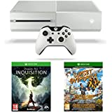 Xbox One White Console with Sunset Overdrive and Dragon Age Inquisition