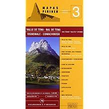 Valle de tena (guia + mapa) (Cartas Pirineo)