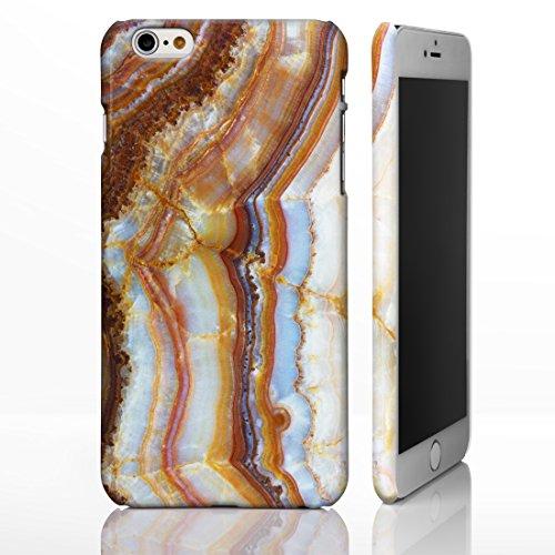 Schutzhülle für verschiedene iPhone Modelle, mit strukturierten Marmor-/ Naturstein-Muster, glänzend Individuelles Design, 14: Pink and Beige Marble, iPhone 6 / 6S - Tough Case 16: Colourful Marble v2