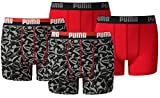 Puma Jungen Boxershort KIDS Limited Black Edition 4er Pack