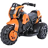 Baybee Damned GS-800 Battery Operated Sports Bike | Single Motor Ride On Bike with 20 Kg Weight Capacity -- Orange