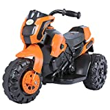 #4: Baybee Damned GS-800 Battery Operated Sports Bike | Single Motor Ride On Bike with 20 Kg Weight Capacity -- Orange