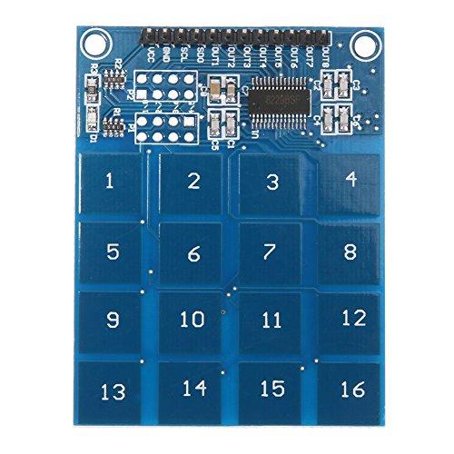 amazingdeal365163Wege ttp229Kapazitiven Touch Schalter Digitaler Sensor Modul -