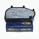 SCT Innenraumfilter AktivFilter SAK120, Referenznummer: CU 2897
