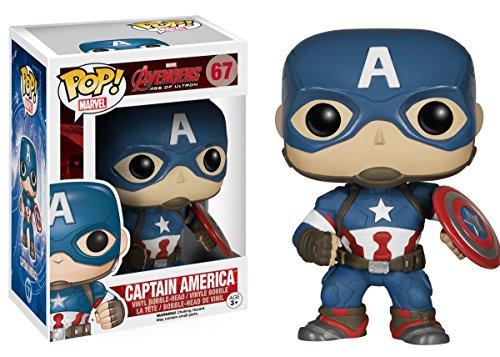 Funko Pop Capitán América (Los Vengadores – La Era de Ultron 67) Funko Pop Los Vengadores