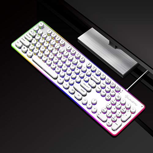 Teclado Gaming mecanico Retro Punk Gaming Mechanical