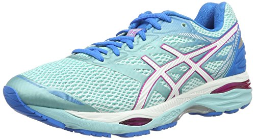 asics-womens-gel-cumulus-18-running-shoes-blue-aqua-splash-white-pink-glow-75-uk-415-eu