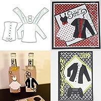 BINGHONG3 Jacket DIY Metal Cutting Dies Stencil Scrapbooking Photo Album Stamp Paper Card Crafts Decro