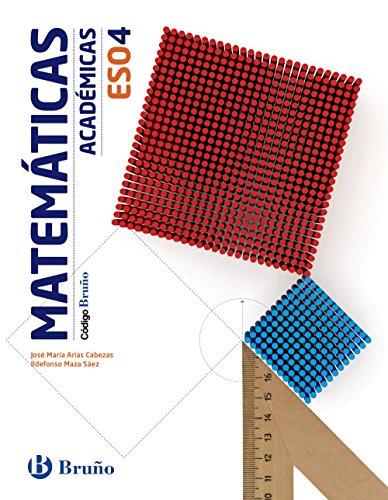 Código Bruño Matemáticas Académicas 4 ESO - 9788469613382