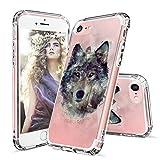 iPhone 7Coque-Cool Tête de Mort Loup