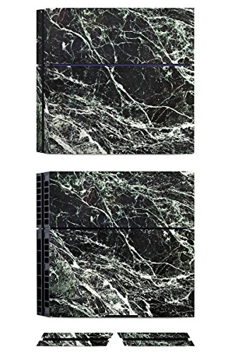 sony-playstation-4-ps4-folie-skin-sticker-aus-vinyl-folie-aufkleber-marmor-look-schwarz-black-marble