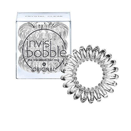 Invisibobble Original Haargummis, crystal clear, 1er Pack, (1x 3 Stück)