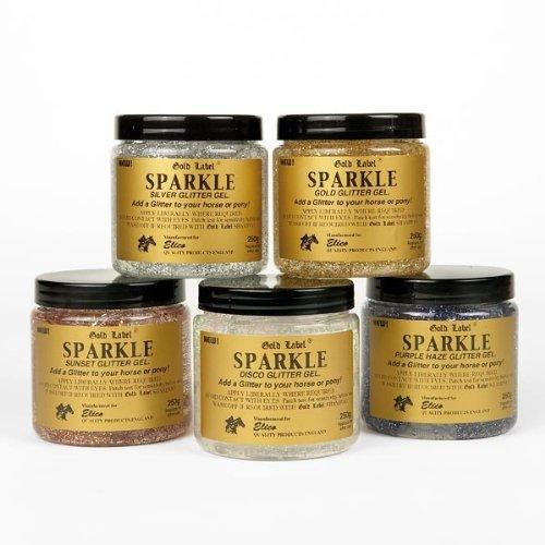 Gold Label Sparkle Glitter Gel, 250ml - Disco (Glitzergel, Disco)