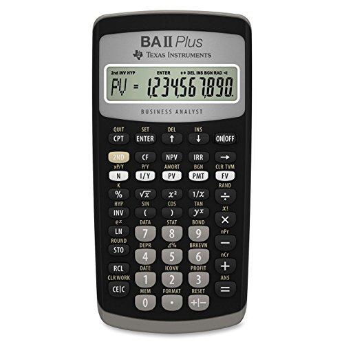 Texas Instruments - Calcolatrice finanziaria TI BA II