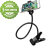 Exosis Unique Flexible 360 Degree Snake Style Stand Long Lazy Stand Foldable Mobile Holder Stand Compatible With Xiaomi, Lenovo, Apple, Samsung, Sony, Oppo, Gionee, Vivo Smartphones (One Year Warranty)