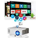 Best Electronic Arts Portable Digital TVs - Pocket Smart Wifi Wireless Mini Projector 1500lumen Review