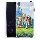 DeinDesign Sony Xperia T3 Style Hülle Silikon Case Schutz Cover Disney Rapunzel verföhnt Merchandise Geschenke