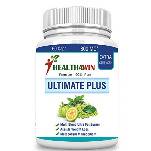 Healthawin Ultimate Plus Natural Fat Burner 800 Mg - 60 Caps