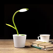 iEGrow Lámpara de Escritorio, LED Lámparas USB 5V 1W Control Táctil Lámparas de Mesa para Niños Leyendo Verde