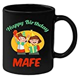 Huppme-Happy-Birthday-Mafe-Black-Ceramic-Mug-(350-ml)