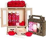 BRUBAKER 15-teiliges Beauty Geschenkset Cranberry Vanilla