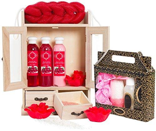 """BRUBAKER 15-teiliges Beauty Geschenkset""""Cranberry Vanilla"""""""