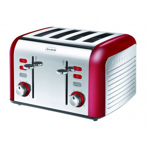 Breville Opula Collection VTT334 Stainless Steel 4 Slice Toaster