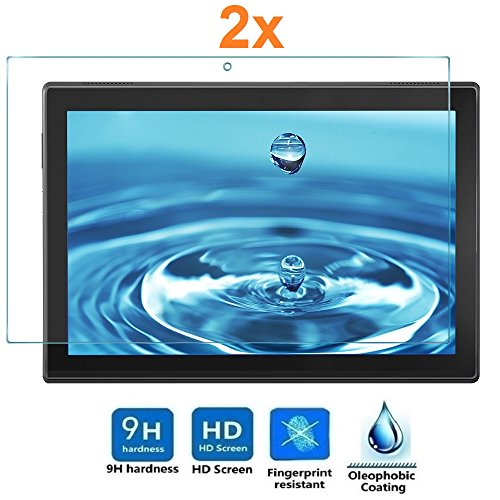 "pellicola tablet 10 pollici Pack 2X Pellicola salvaschermo per Lenovo Tab 4 10"""