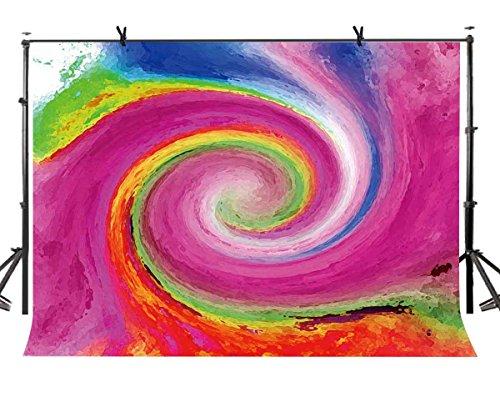 lylycty 5x 2,1Abstrakte Kunst Hintergrund Colorful Swirl Abstrakte Kunst Fotografie Hintergrund Foto Art Studio Hintergrund Requisiten lylx380 - Pb Swirl