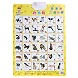 YeahiBaby Animal Learning Wall Chart Audio Chart Elektronische Voice Chart Multifunktions Vorschule Spielzeug für Kinder
