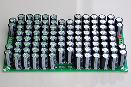 Electronics-Salon 100.000uF Kondensator-Modulplatine für Upgrade Audio Preamp oder Power AMP