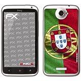 """atFoliX Film décoratif """"Portugal"""" Pour HTC One X (Import Allemagne)"""