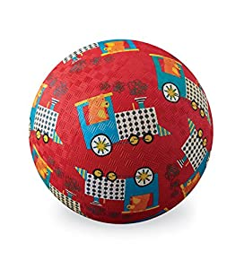 "Crocodile Creek - Pelota (7 ""Rojo Playground Ball Oso Express Tren de Juguete"
