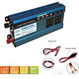 Convertidor 12v a 220v Inverter Wave Car 1100W with prise usb 4.2A 4-Port USB Charger