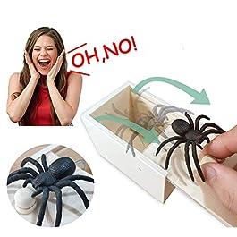 Cayenne Scatola Scherzo Ragno, Ragno Scatola Prank Spider in The Box, Scare Box con Spider Prank, Di