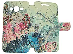 CASSIEY Designer Fancy Flip Cover Case For Samsung Galaxy E5 - DESIGN15