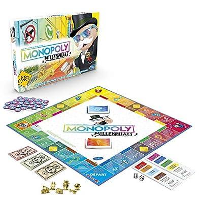 Monopoly Millennials - Jeu de societe - Jeu de plateau - Edition spéciale Génération Y - Version française